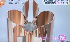 東京オリンピックトーチデザイン