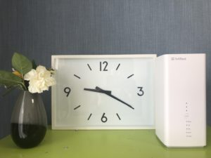 SoftBank Air(ソフトバンクエアー)夜, 遅い, 速度, 測定