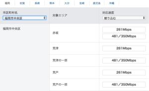 地方でSoftBank Air(ソフトバンクエアー)は使える?福岡県福岡市の対応エリアや通信速度を調査3