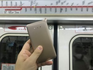どんなときもWiFiを地下鉄ホーム・走行中に使ってみた!速度計測したらヤバかった!