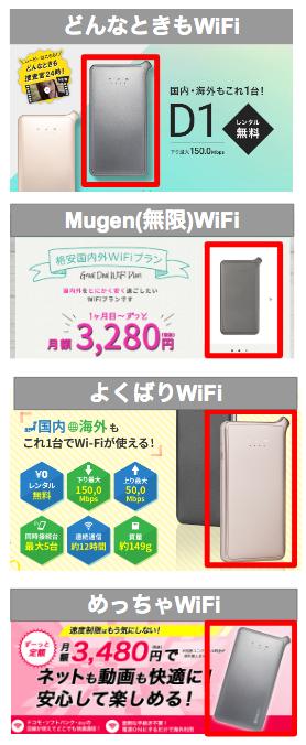 【クラウドSIM 全比較】どんなときもWiFi、Mugen WiFi、よくばりWiFiで、めっちゃWiFiなど、類似サービスの料金やサービスを比較