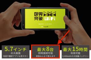 限界突破WiFiは同時に何台まで接続できるの?通信速度は遅くならないか?利用者が解説します!